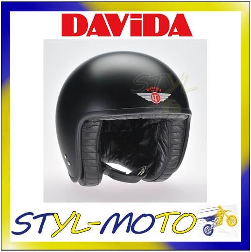 80113 CASCO DAVIDA 80-JET STANDARD CREAM//BLACK LEATHER TAGLIA L