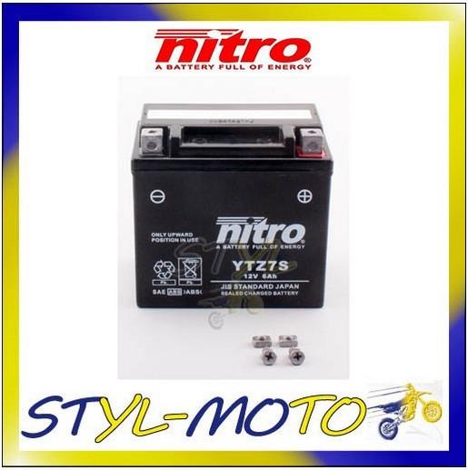 ytz7s batteria battery nitro agm gel ktm 125 duke 2012 ebay. Black Bedroom Furniture Sets. Home Design Ideas
